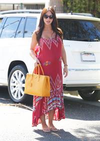 Jennifer Love Hewitt in Los Angeles 10/7/13