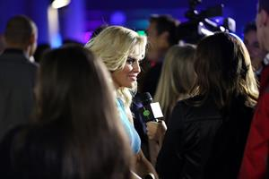 Jenny McCarthy - Leather & Laces Super Bowl Party 2/1/13