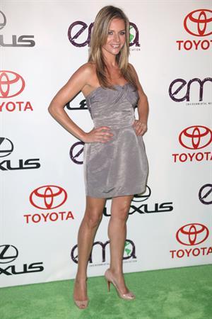 Jessalyn Gilsig 20th Annual Environmental Media Awards -- Burbank, Oct. 16, 2010