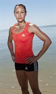 Jessica Ennis Graham Hughes photoshoot for Adidas 2011