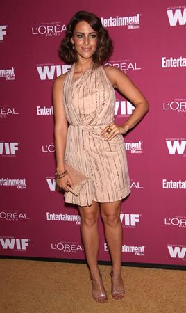 Jessica Lowndes attends Entertainment Weekly and Women in Film pre Emmy party on September 16, 2011