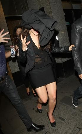 Jessica Lowndes - Leaving Rose nightclub - London - August 4, 2012