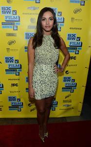 Jessica Lucas 'Evil Dead' screening at 2013 SSW in Austin 3/8/13