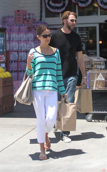 Jordana Brewster - Bristol Farms in Hollywood - July 7, 2012