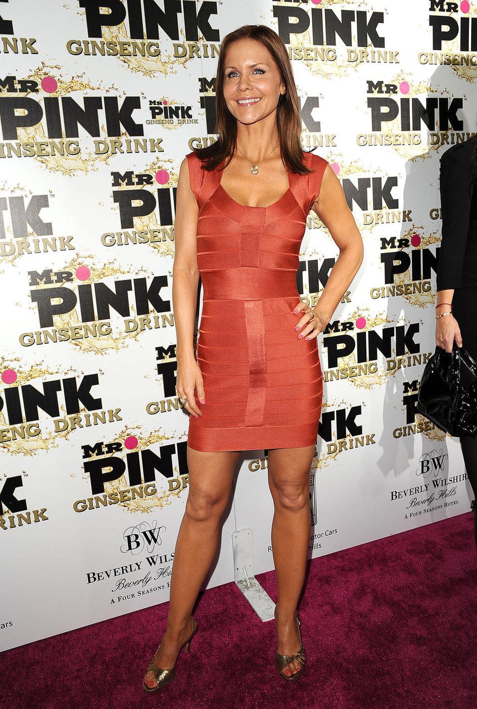 Josie Davis Mr. Pink Ginseng Drink Launch Party in Beverly Hills (Oct 11, 2012)