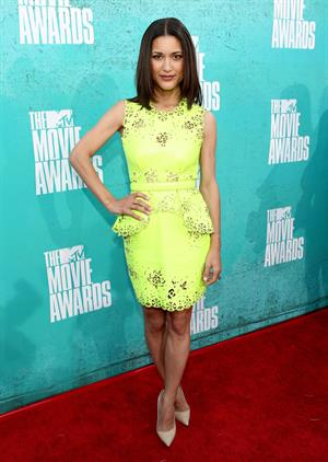 Julia Jones - MTV Movie Awards at Universal Studios, Arrivals - June 3, 2012
