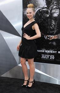 Juno Temple -  The Dark Knight Rises  World Premiere in New York City on July 16, 2012