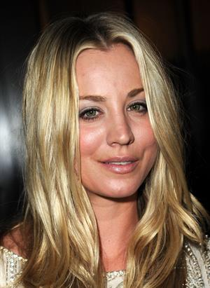 Kaley Cuoco attends 19th annual A Night at Sardis on March 16, 2011
