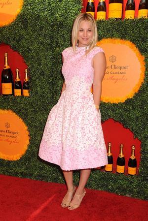 Kaley Cuoco 3rd Annual Veuve Clicquot Polo Classic in LA October 6, 2012