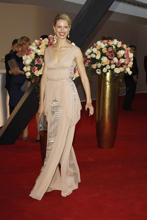 Karolina Kurkova - Rosenball at Hotel Intercontinental in Berlin (June 9, 2012)