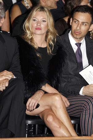 Kate Moss Christian Dior Fashion Show during Paris Fashion Week October 1, 2010