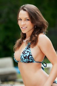 Lily Love in a bikini