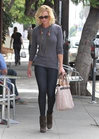 Katherine Heigl leaving Little Dom's restaurant Los Feliz October 6, 2012