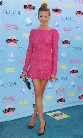 Katie Cassidy 2013 Teen Choice Awards Universal City California August 11, 2013