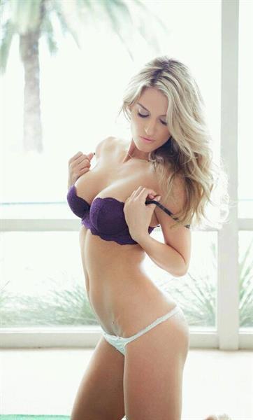 Ashley Lauren in lingerie