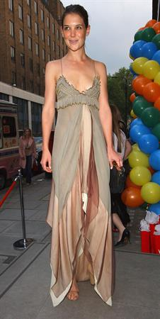Katie Holmes At Stella McCartneys Store 1st Birthday in London 5/25/04
