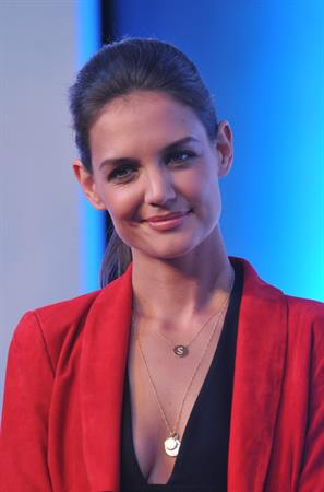 Katie Holmes - Artistry on Ice promotional event in Beijing, China - June 12, 2012