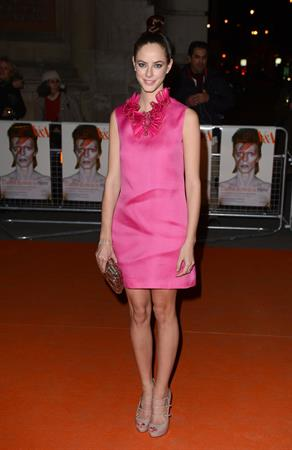 Kaya Scodelario  David Bowie Is  Private View in London - Mar. 20, 2013