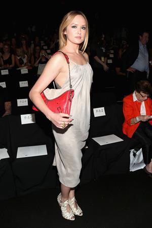 Kaylee DeFer - Rebecca Minkoff Spring Fashion Show in New York - September 7, 2012