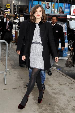 Keira Knightley at Good Morning America in New York City 11/8/12