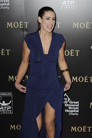 Kirsty Gallacher Barclays ATP WTFG London - November 3, 2012