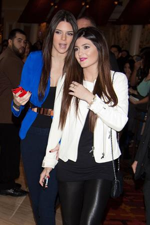 Kylie Jenner hosts 1st fan meet and greet at Kardashian Khaos in Vegas 12/15/12