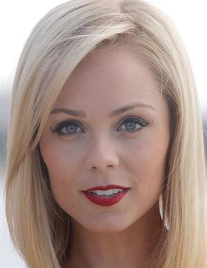 Laura Vandervoort MIPCOM photocall in Cannes 10/7/13