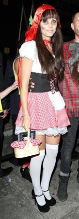 Laura Vandervoort At the Bootsy Bellows Halloween Party - Los Angeles - October 31, 2013