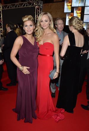 Laura Vandervoort Canadian Screen Awards in Toronto 3/3/13