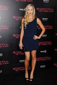 Laura Vandervoort - At Regal Cinemas L.A. Live September 12, 2012