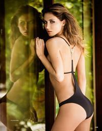 Ann Kathrin Brommel in a bikini - ass