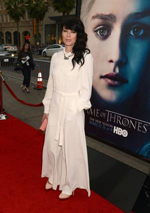Lena Headey  Game Of Thrones  Season 3 Los Angeles Premiere - Mar. 18, 2013
