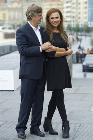 Lena Olin at the 60th San Sebastian Film Festival: 'Hypnotisoren/The Hypnotist' (Sep 28, 2012)