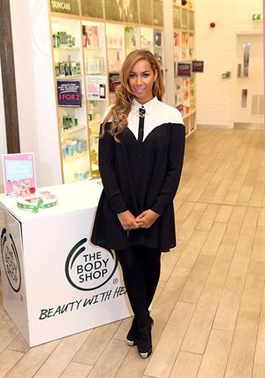 Leona Lewis Makes A Personal Appearance At The Body Shop - London, Mar. 27, 2013