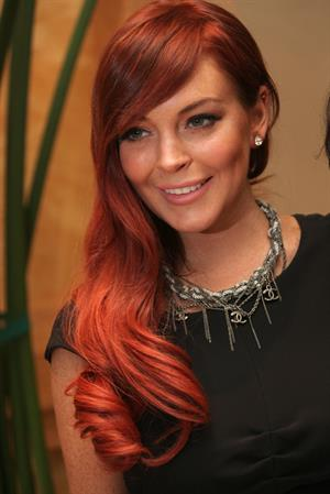 Lindsay Lohan  Liz & Dick  press conference in Los Angeles - October 20, 2012