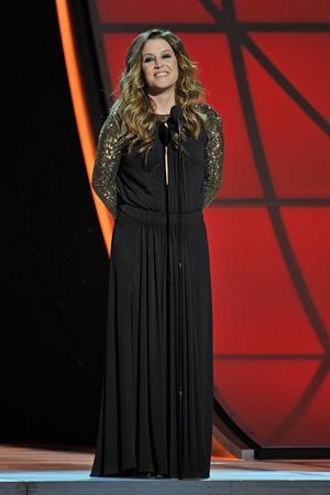 Lisa Marie Presley 46th Annual CMA Awards (November 1, 2012)