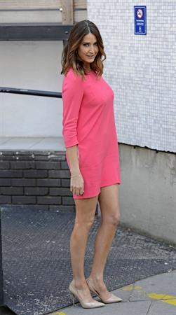Lisa Snowdon Departing ITV Studios in London on April 30, 2013