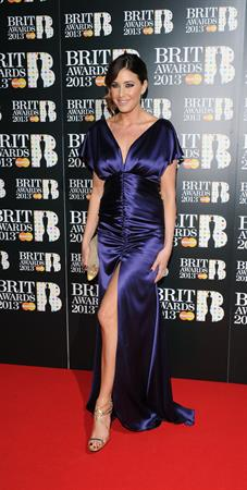 Lisa Snowdon BRIT Awards, Feb 20, 2013