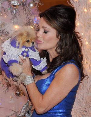 Lisa Vanderpump Beverly Center's Holiday Pet Portraits Debut (November 14, 2013)