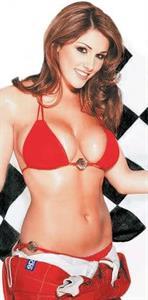 Lucy Pinder in a bikini