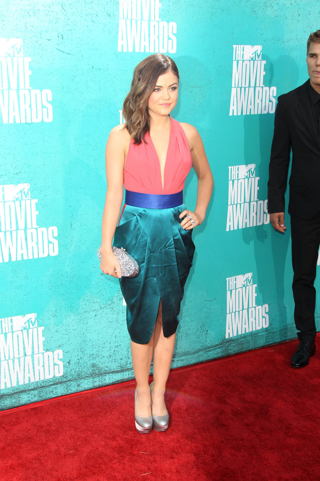 Lucy Hale - 2012 MTV Movie Awards (Arrival) in Universal City (June 3, 2012)