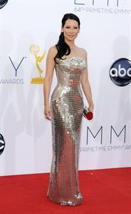Lucy Liu - 64th Primetime Emmys Nokia Theatre LA Sept 23 2012