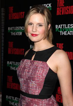 Maggie Grace 'The Revisionist' opening night in New York 2/28/13