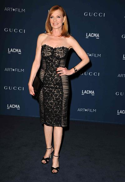 Marg Helgenberger 2013 LACMA Art Film Gala in LA on November 2, 2013