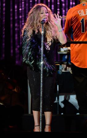 Mariah Carey MLB All Star Charity Concert Benefiting Sandy Relief -- New York, Jul 13, 2013
