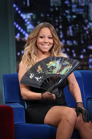 Mariah Carey  Late Night With Jimmy Fallon  - Season 5 -- Nov. 12, 2013