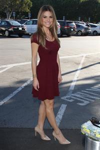 Maria Menounos Universal Studio for Extra in Los Angeles 08.11.13