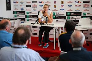 Maria Sharapova during a Press Conference of the Internazionali BNL d'Italia 2013 May 14, 2013