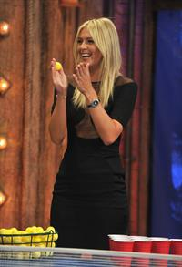 Maria Sharapova - Late Night with Jimmy Fallon NBC Studios August 20, 2012
