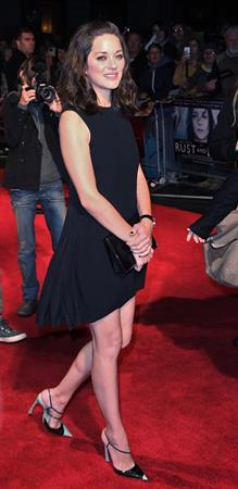 Marion Cotillard 56th BFI London FF Rust And Bone, Oct 12, 2012